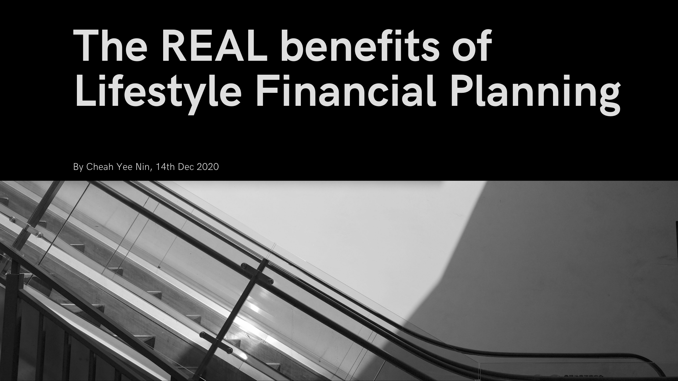 Read more about the article The REAL benefits of Lifestyle Financial Planning